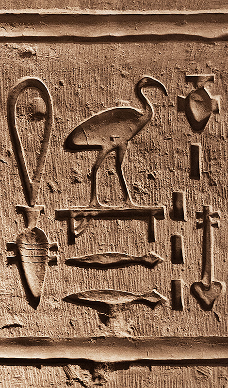 Hieroglyphics Detail 2