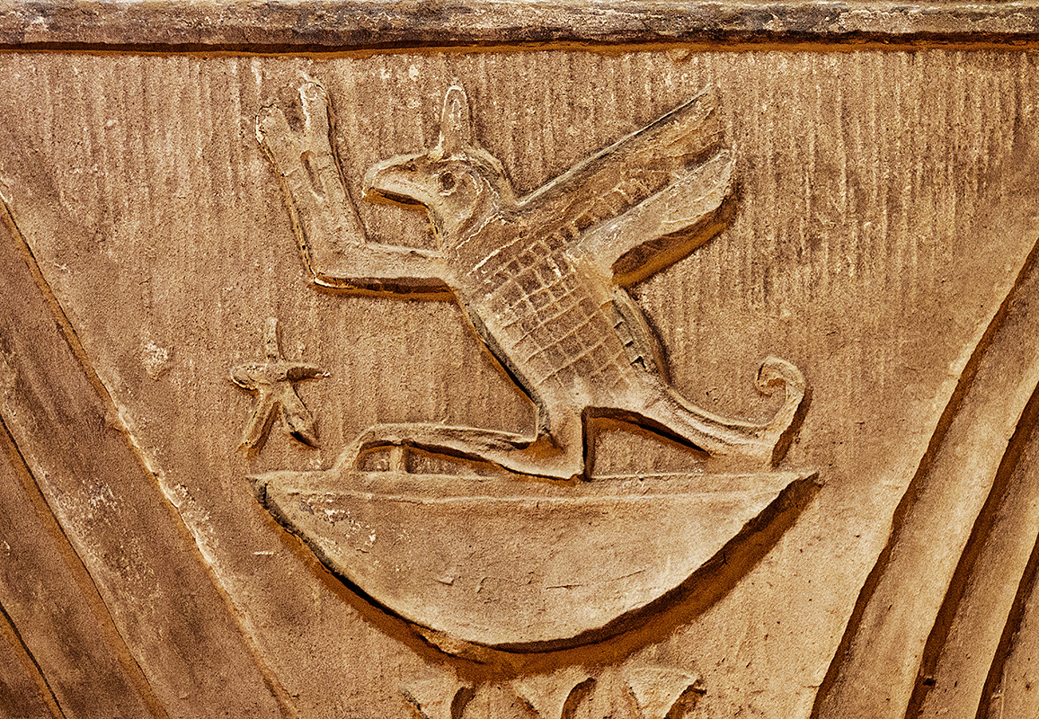 Bird Hieroglyphic Detail