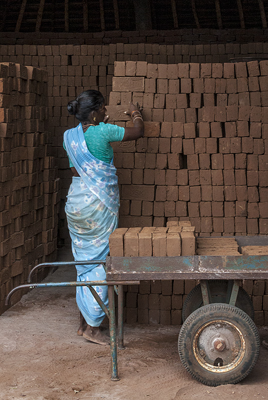 Stacking and Firing the Bricks