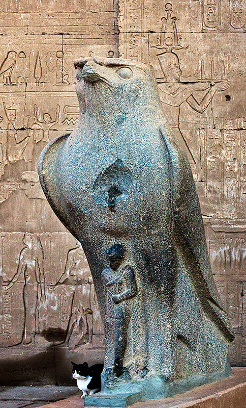 From The Story Buildings of Egypt - Edfu, Temple of Horus