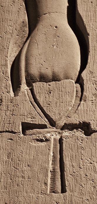 Kom Ombo Hand with Ankh