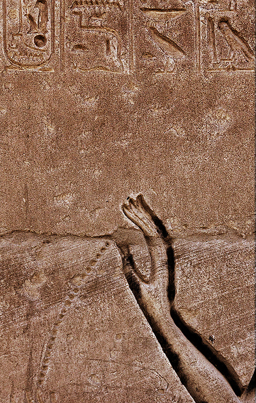 Ramesseum Hand with Trailing Water