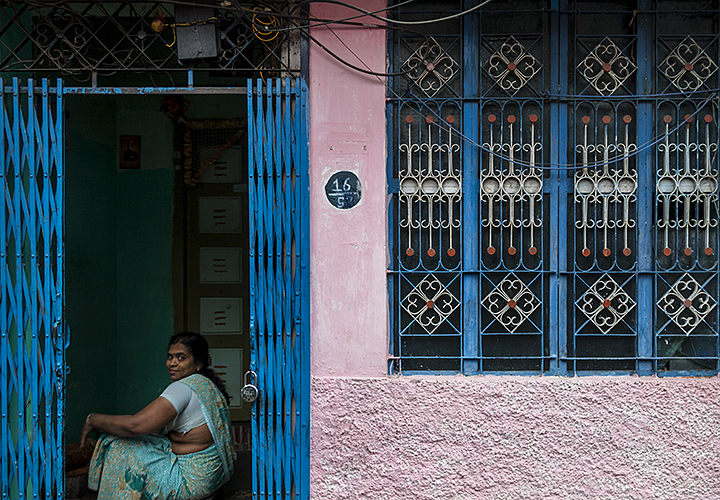 Madurai :: Pink and Blue