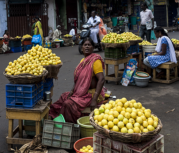 Madurai :: The Lemon Lady